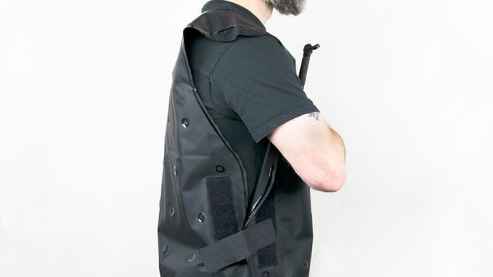 Exotogg Thermal Vest side view.