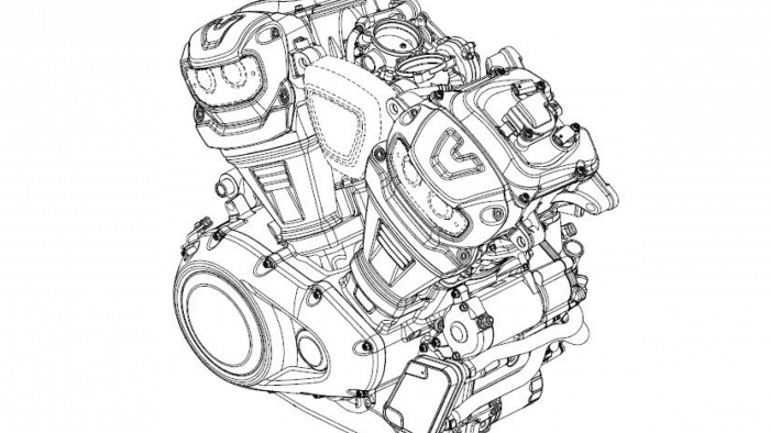 Harley engine filing