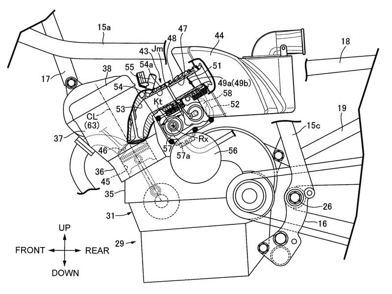 Honda cafe patent filings