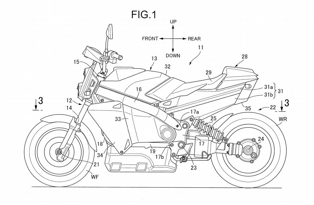 Honda Hydrogen motorcycle
