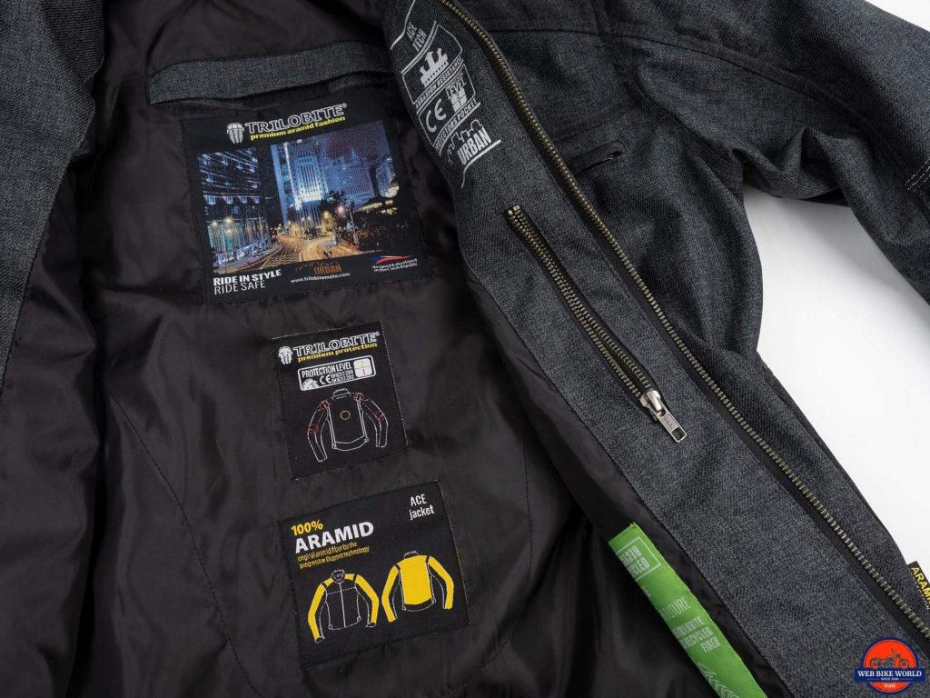 Trilobite Ace Jacket interior