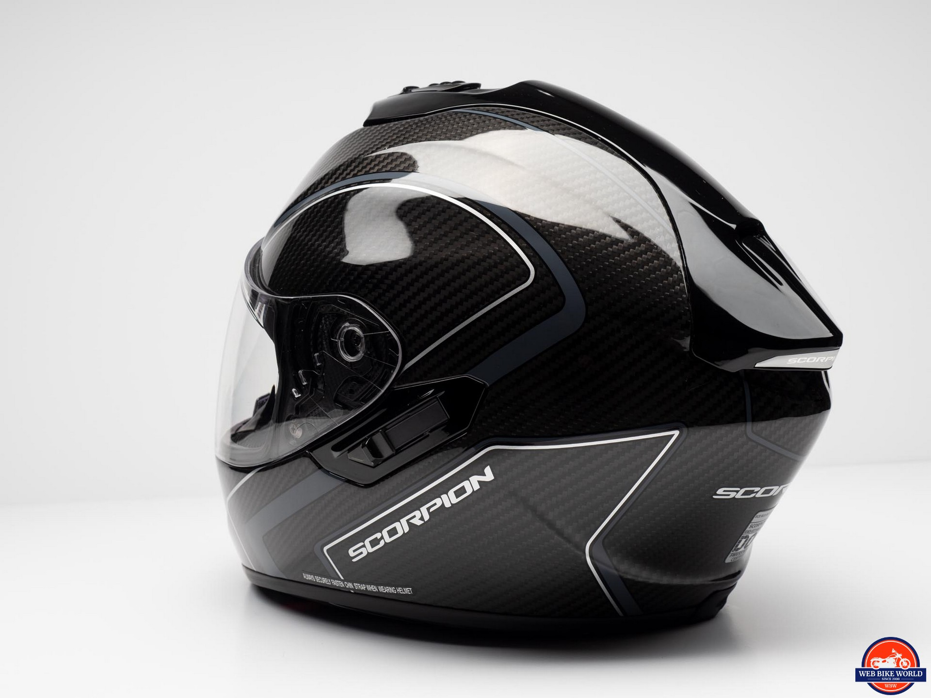 Scorpion EXO-ST1400 Carbon Helmet side view