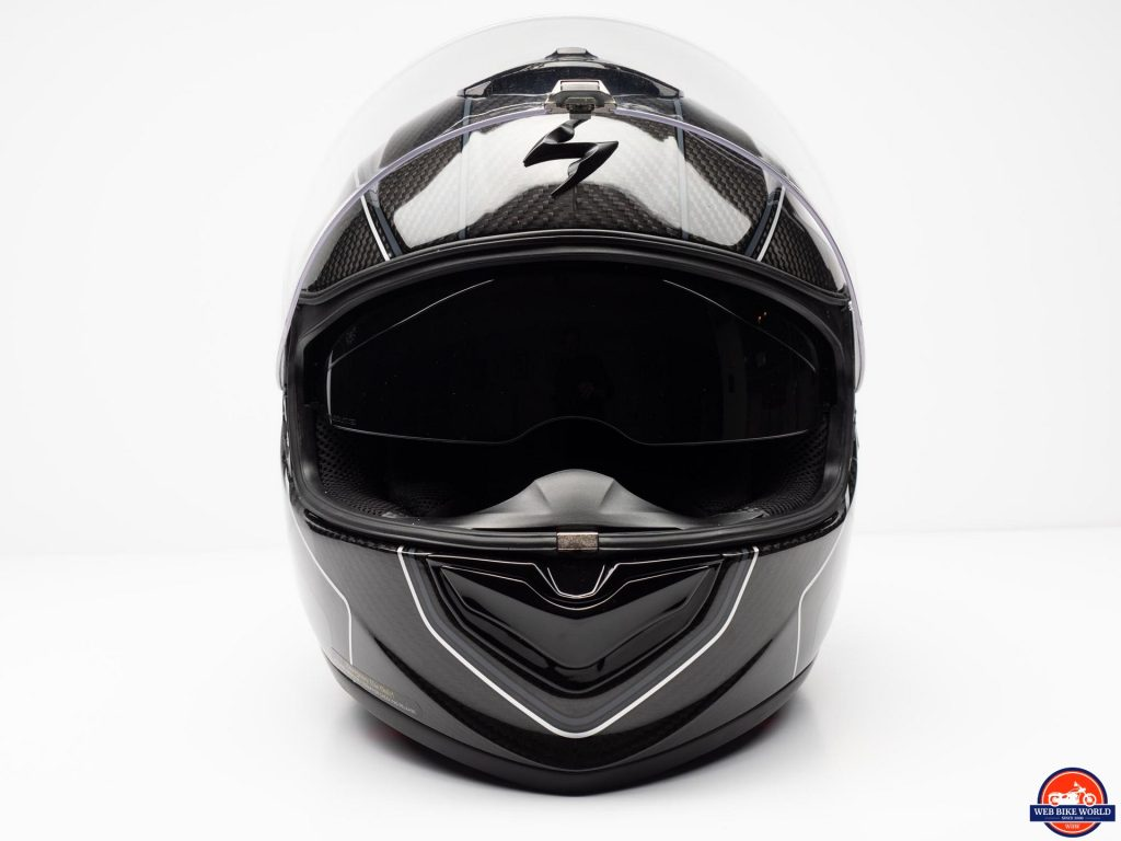 Scorpion EXO-ST1400 Carbon Helmet frontal view