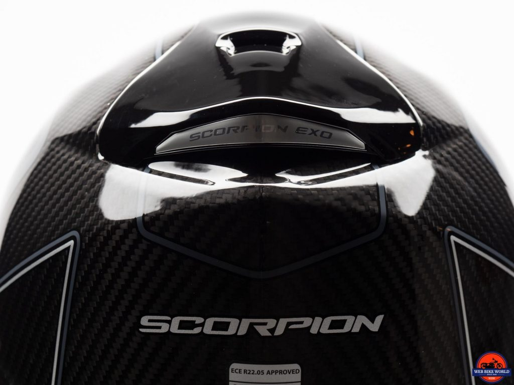 Scorpion EXO-ST1400 Carbon Helmet top vent