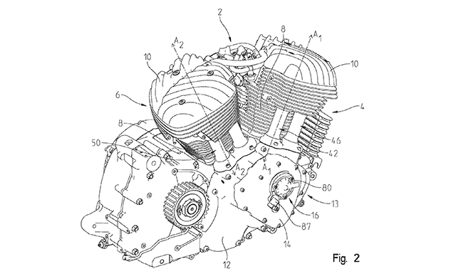 Indian Motorcycle Patents Variable Valve Timing V-Twin ...