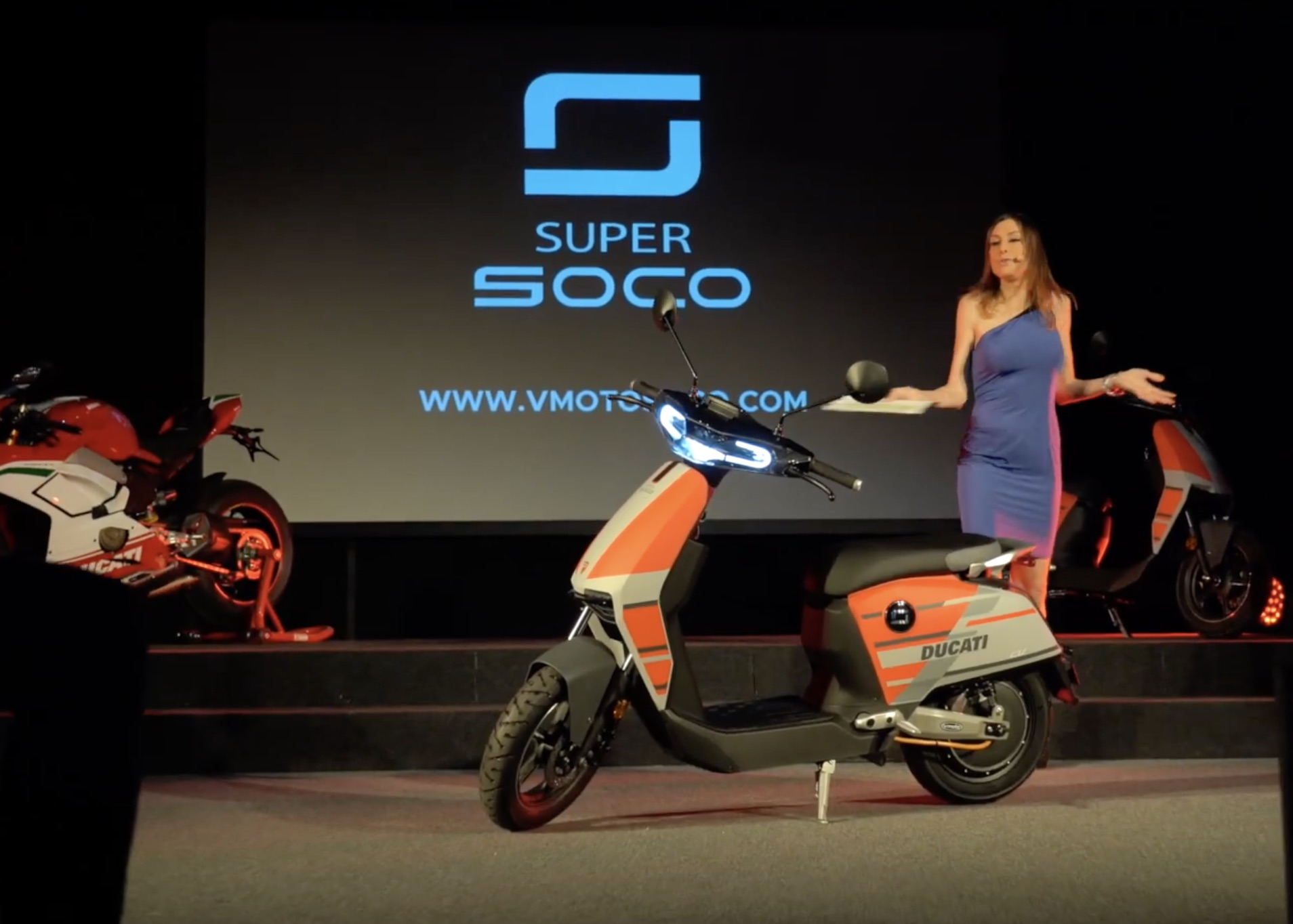 Ducati super soco CUx electric scooter