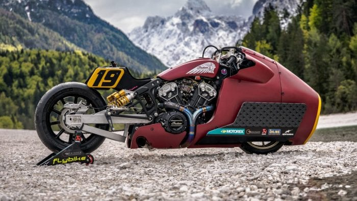 Indian motorcycle scout bobber appaloosa