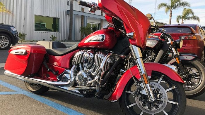 2019 Indian Chieftain Limited.
