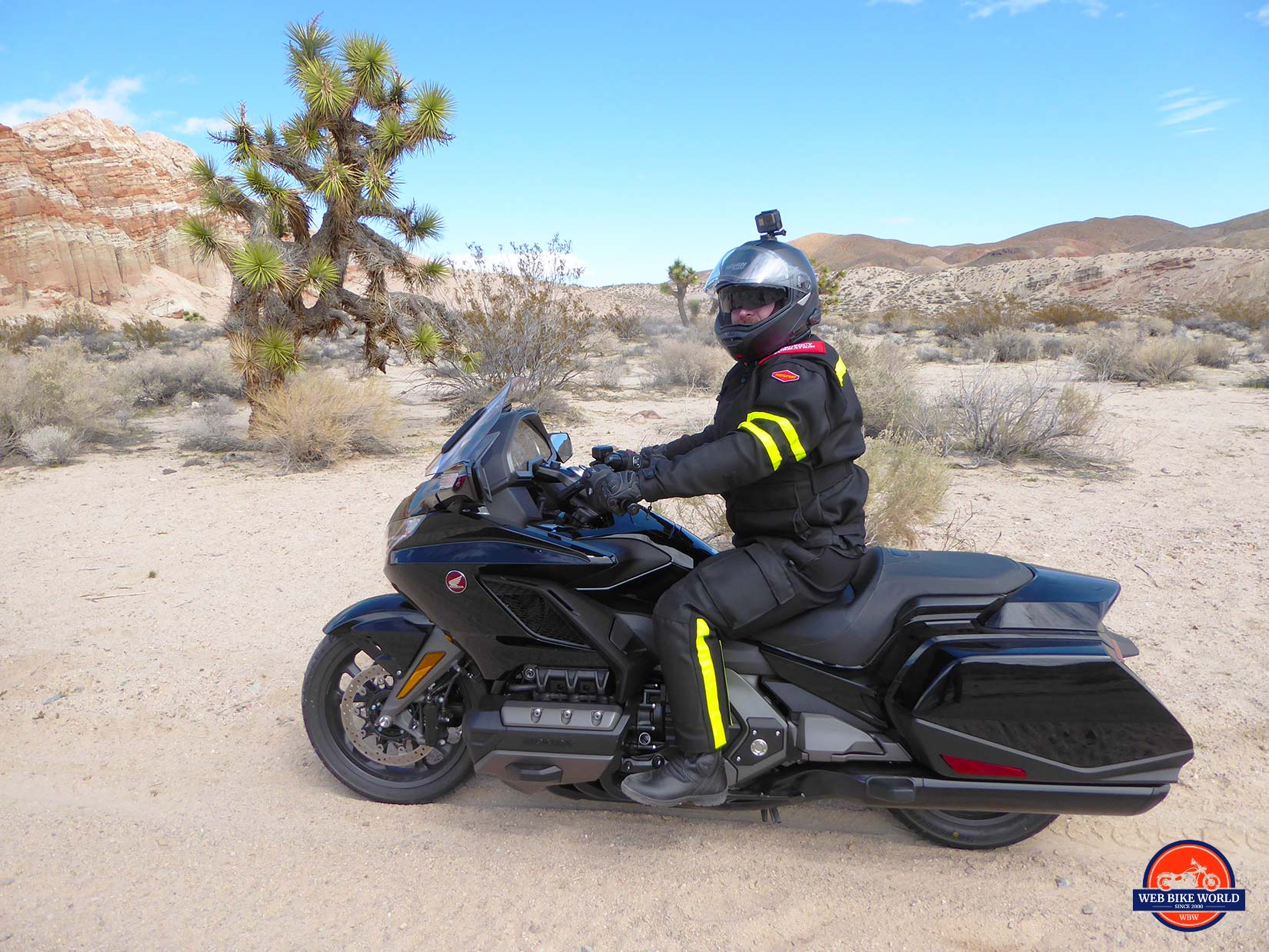 Me with the Honda Gold Wing DCT.