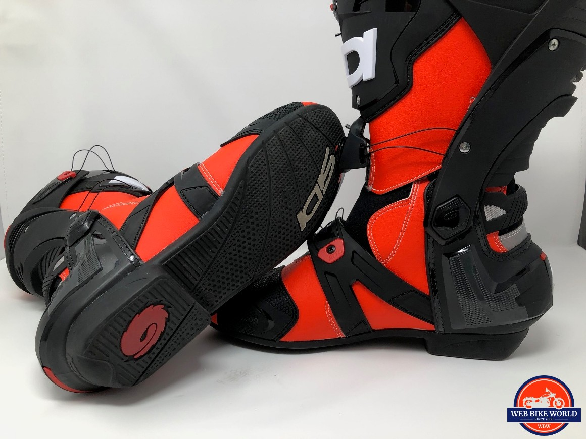 SIDI REX BOOTS HEEL AND SOLE VIEW
