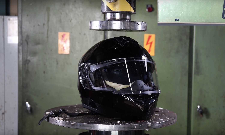 helmet press