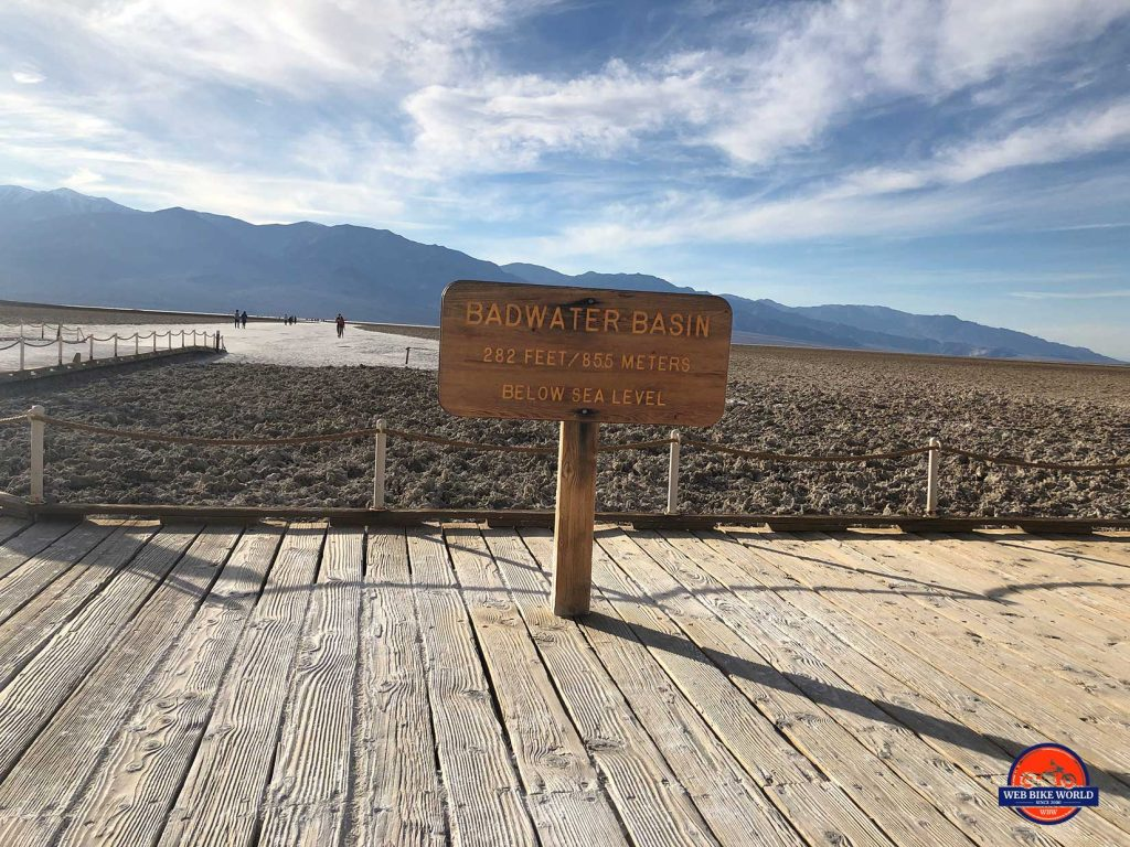 Badwater Basin.