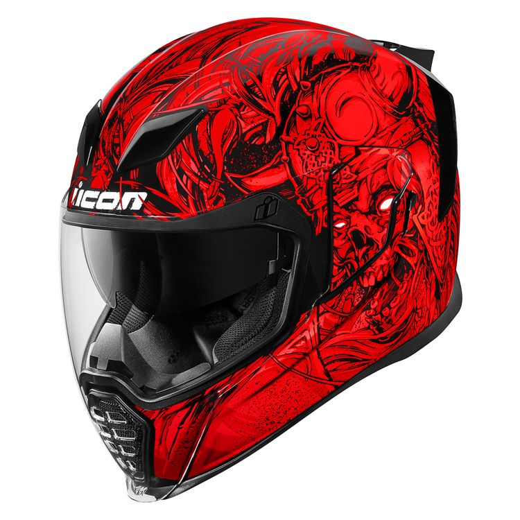 Icon Airflite Krom red helmet