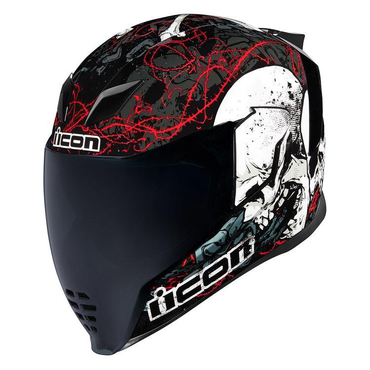 Icon Airflite Skull18 helmet