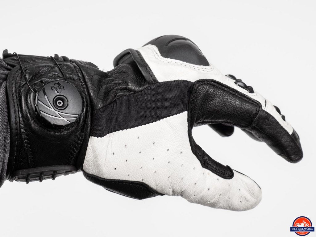 Knox Orsa Leather MKII Glove side view