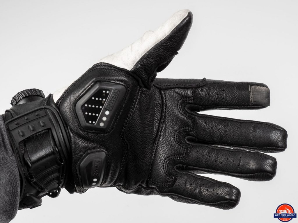 Knox Orsa Leather MKII Glove palm view
