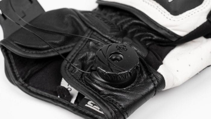 Knox Orsa Leather MKII Glove BOA closure system