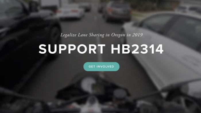 Oregon lane split