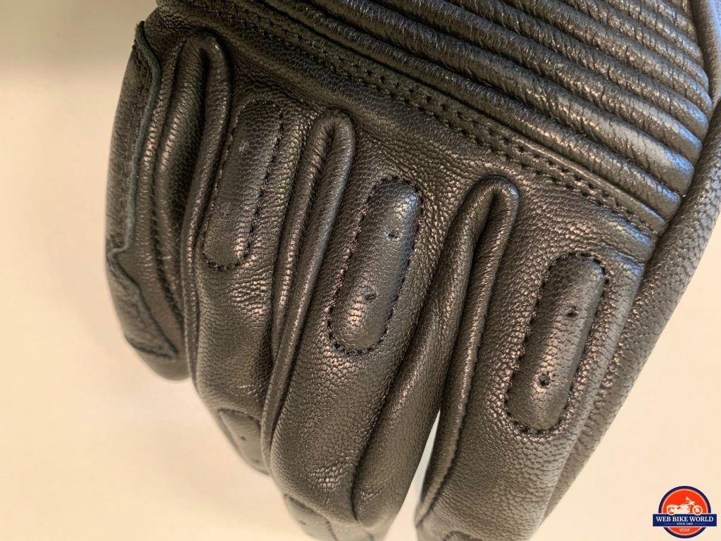 REV'IT Bastille Gloves knuckle padding