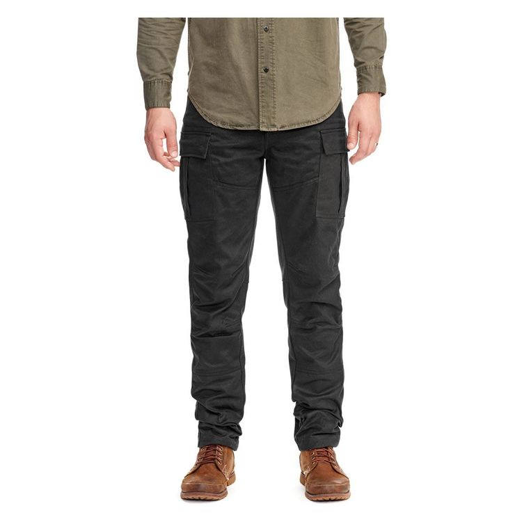Saint Adventure Waxed Cargo Pants