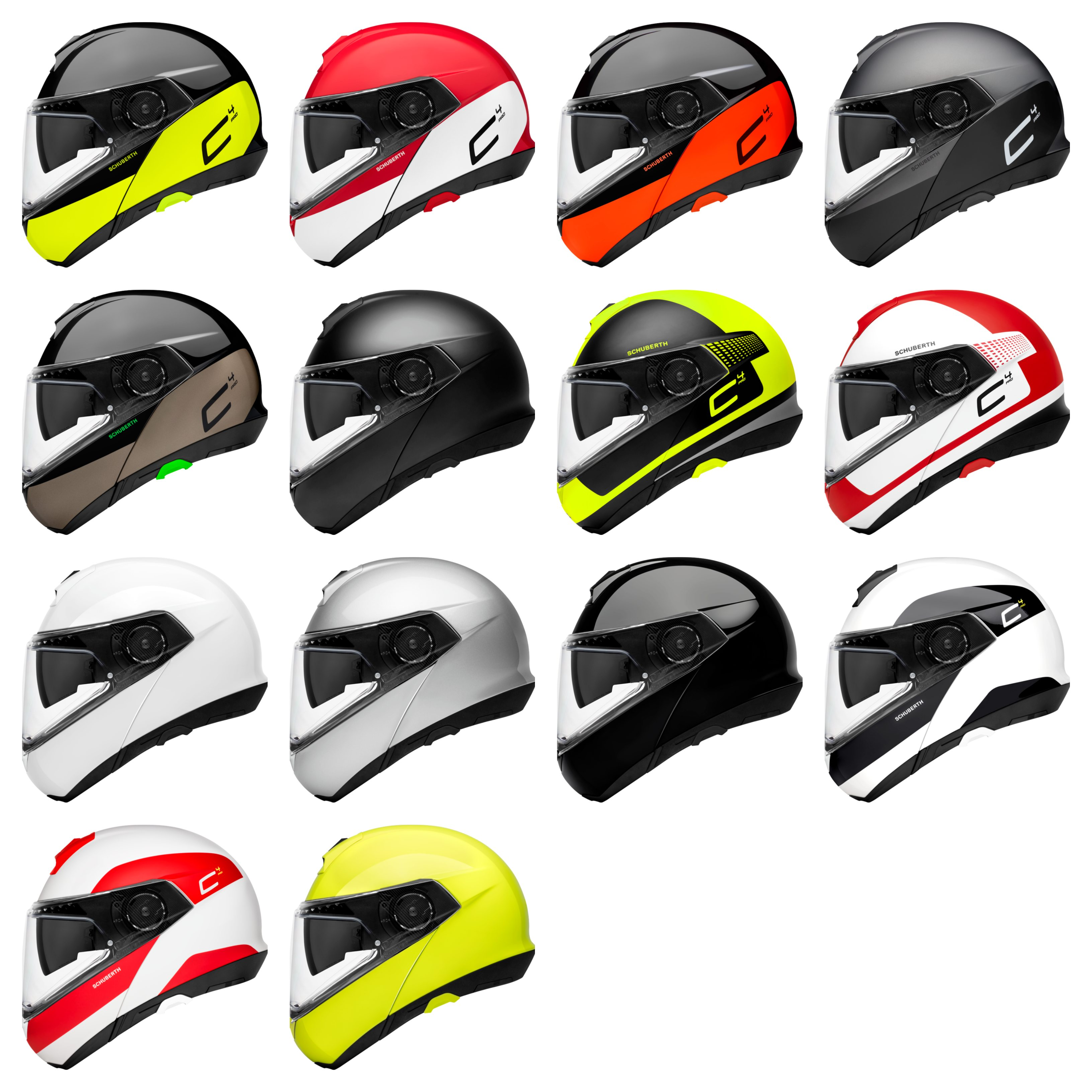 SCHUBERTH C4 Pro Colorways