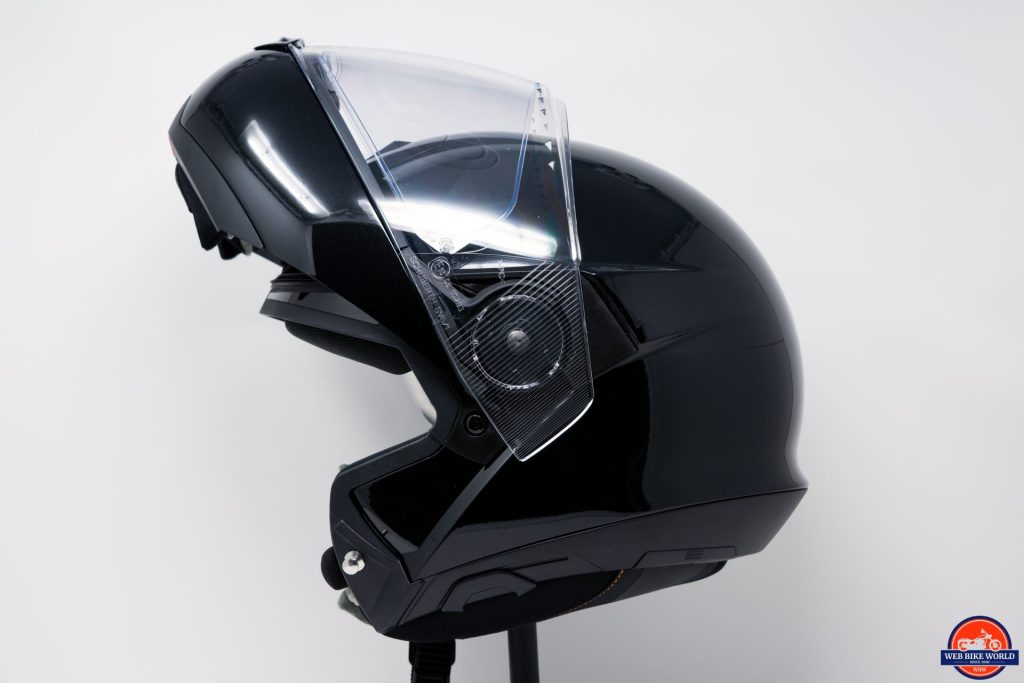 SCHUBERTH C4 Pro with chinbar raised