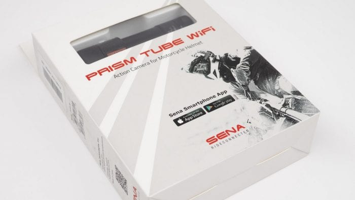 Sena Prism Tube WiFi Action Camera packaging