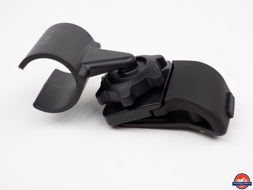 Sena Prism Tube WiFi Action Camera mounting clamp