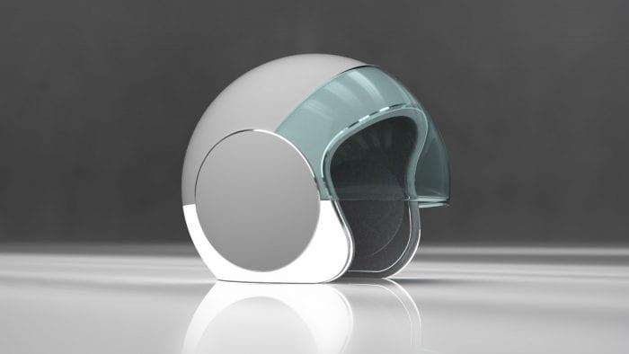 Jeo Doucet's Sotera motorcycle helmet