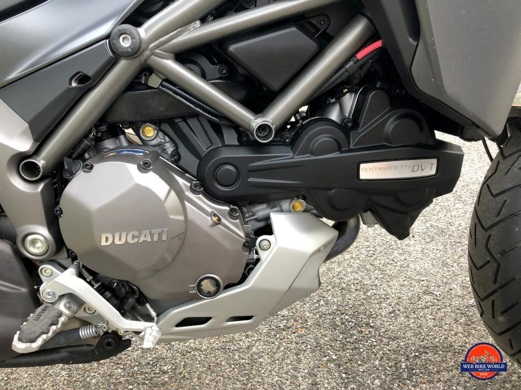 2019 Ducati Multistrada 1260S engine.