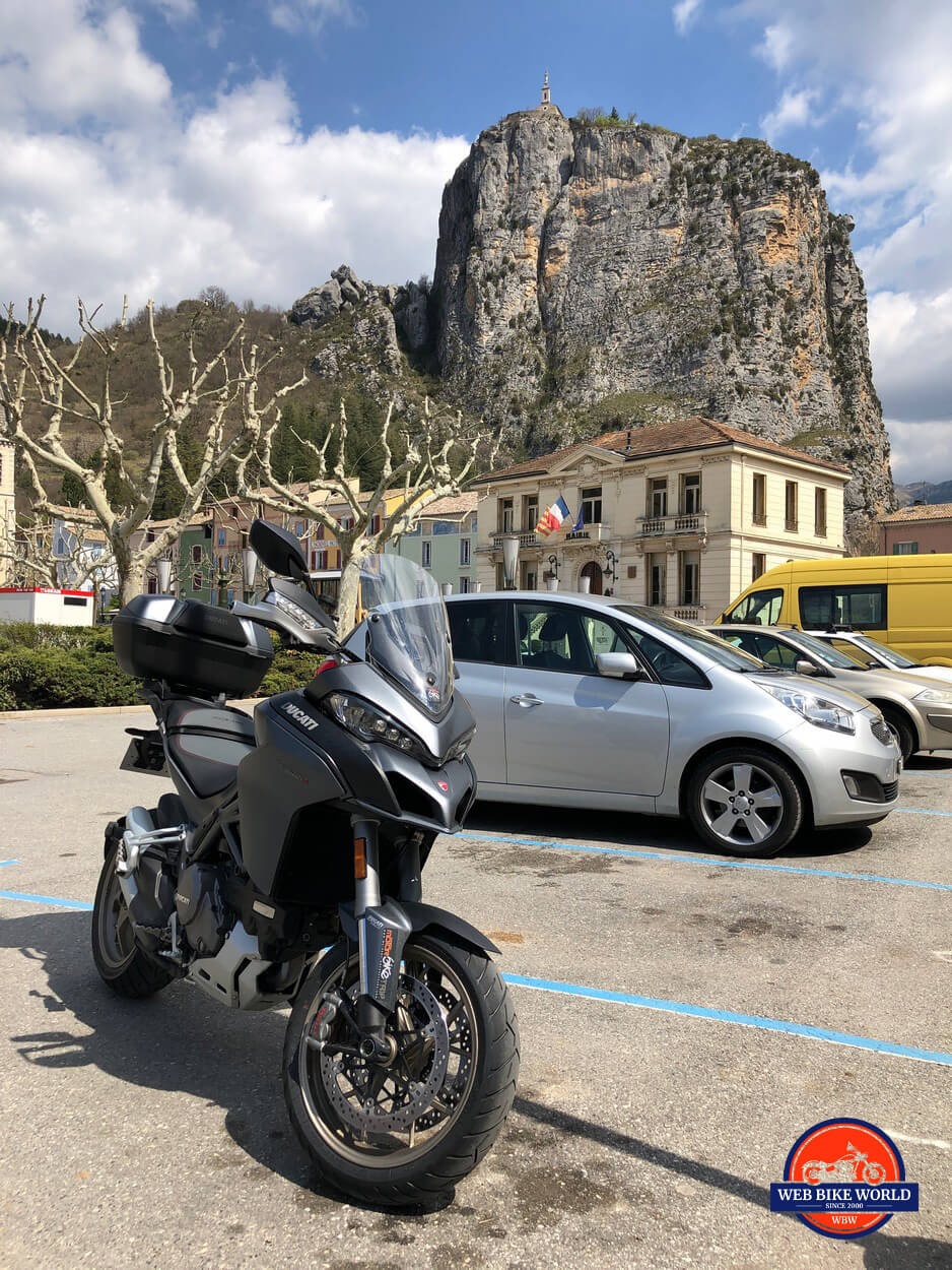 2019 Ducati Multistrada 1260S in Castellane, France.