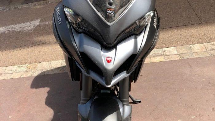 2019 Ducati Multistrada 1260S front.