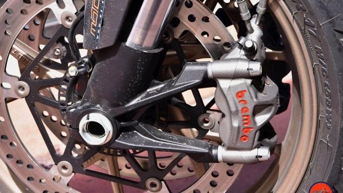 2019 Ducati Multistrada 1260S front brakes.