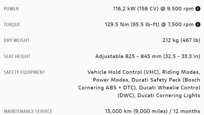 2019 Ducati Multistrada 1260S specs.