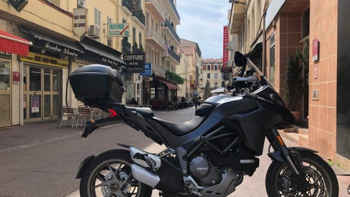 2019 Ducati Multistrada 1260S in Cannes, France.