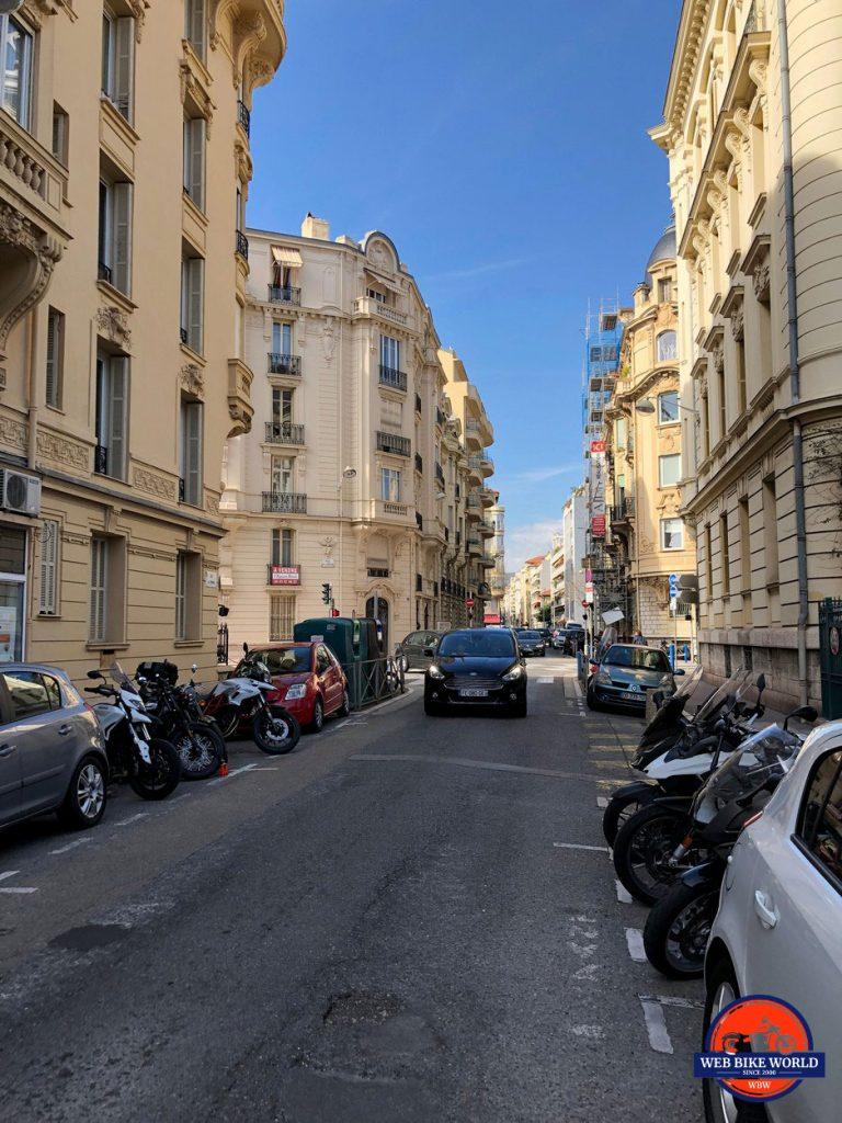 Rue de Rivoli, Nice, France.