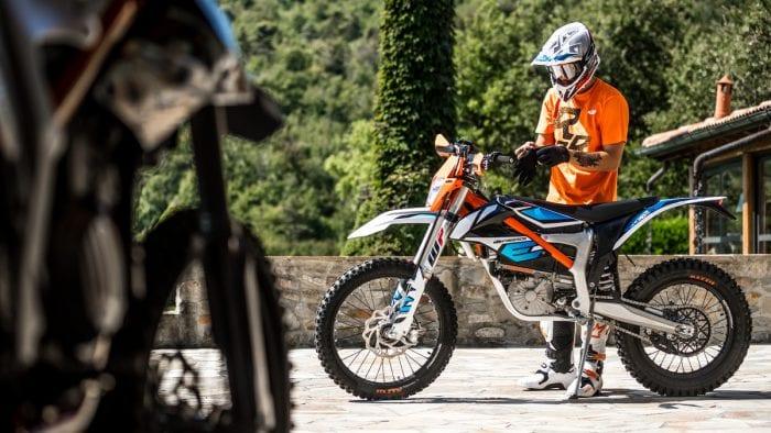 KTM Freeride E-XC electric motorcycle