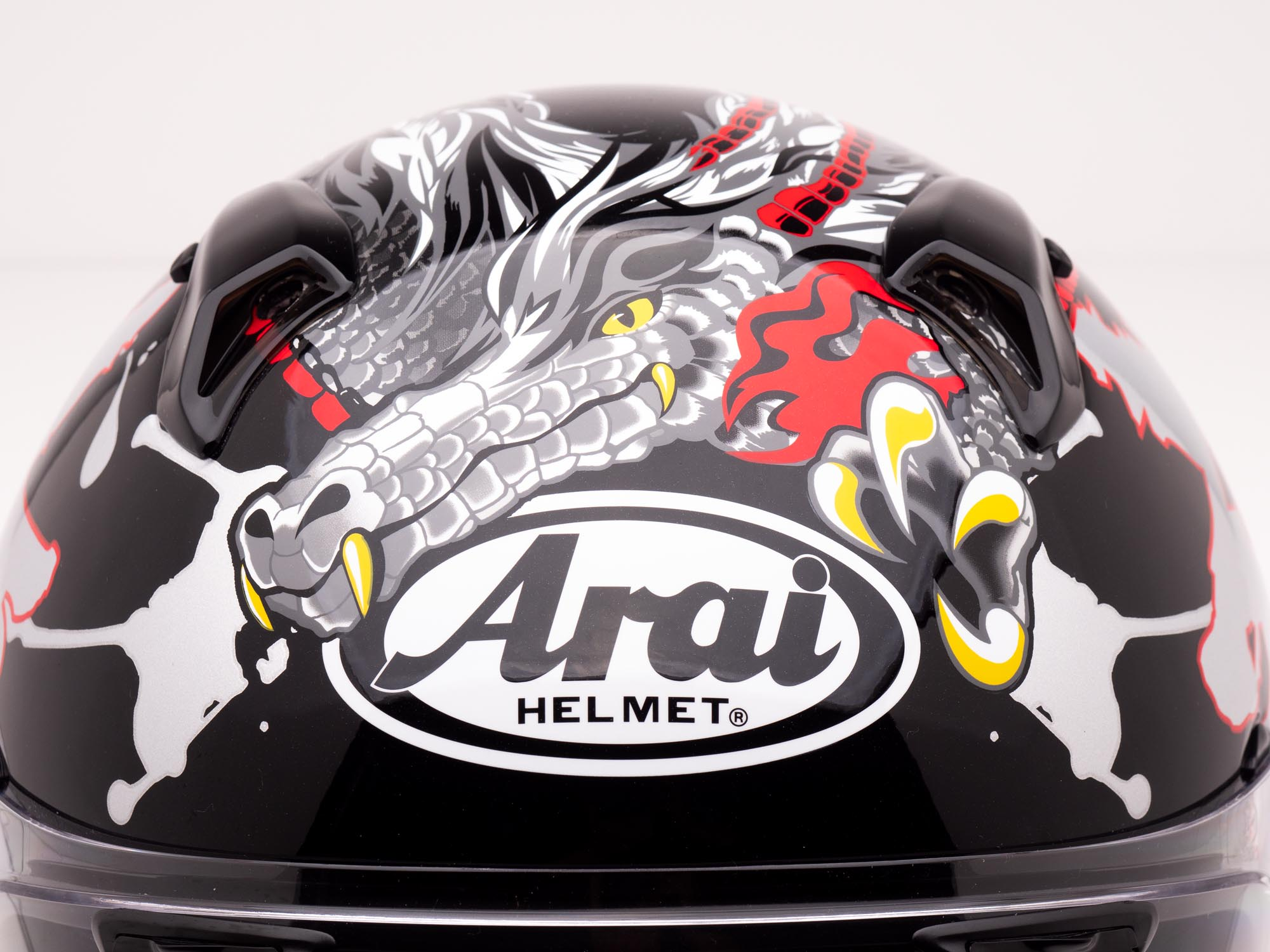 Arai Defiant-X Helmet with Dragon Graphics