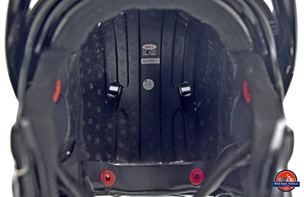 Bell SRT Helmet exhaust ports.