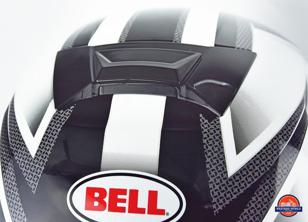 Bell SRT Helmet air vent.