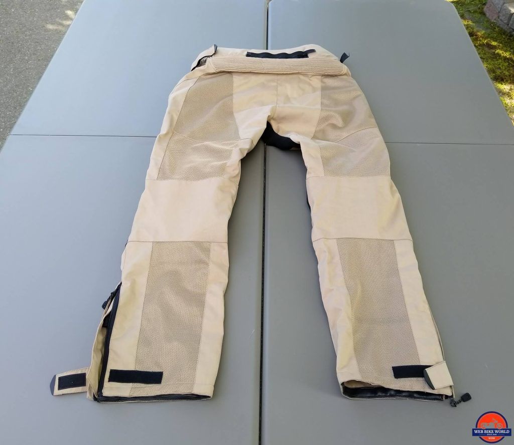 Motonation Cappra Vented Pants full rear view