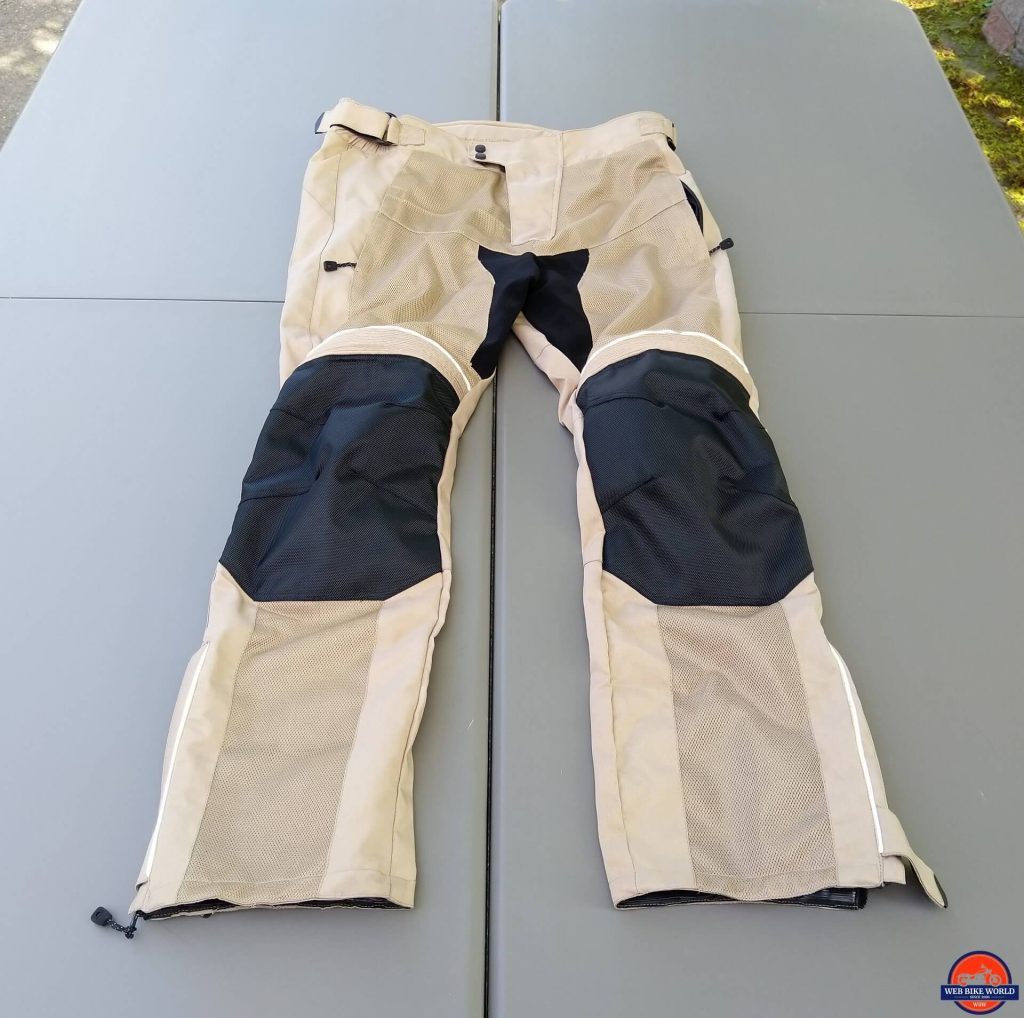 Motonation Cappra Vented Pants full frontal view