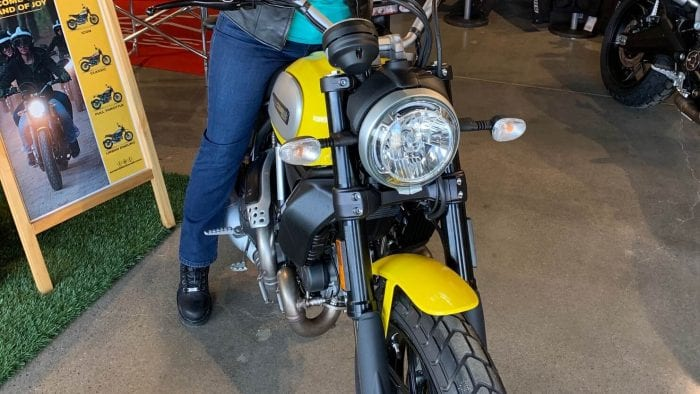 Lowering a Ducati Scrambler