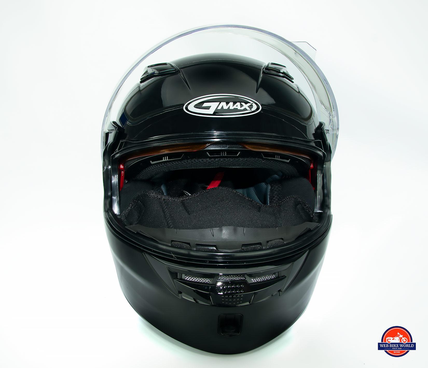 GMax MD01 helmet breath guard.