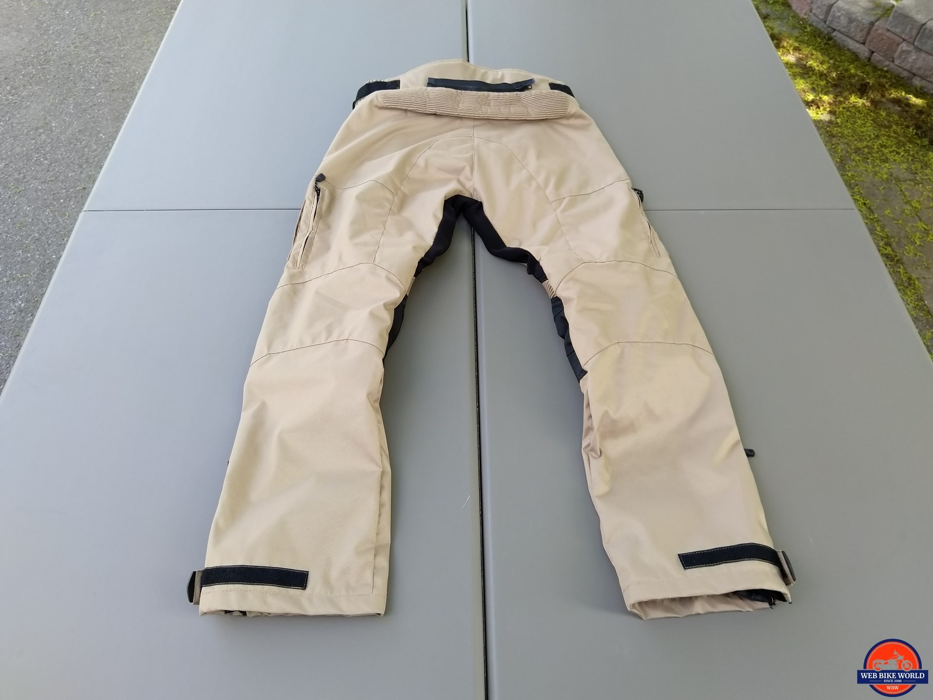 Phantom Textile Adventure Pants full rear view