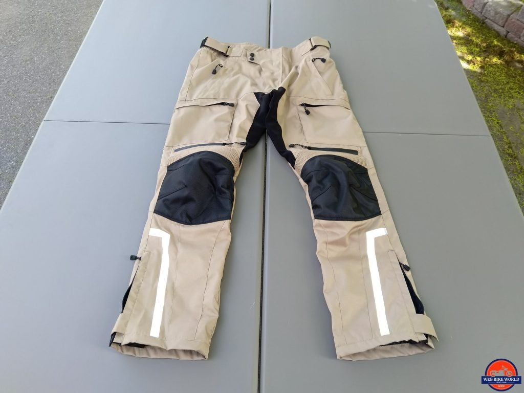 Phantom Textile Adventure Pants 2XL full frontal view