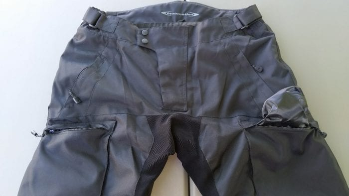 Phantom Textile Adventure Pants, all pockets lined for water resistance