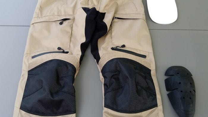 Phantom Textile Adventure Pants pants with hip and knee armor