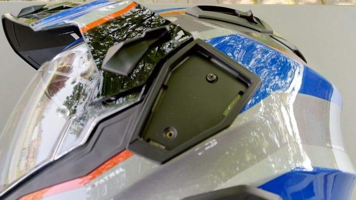 NEXX X.Wed2 X-Patrol Helmet exposed plate
