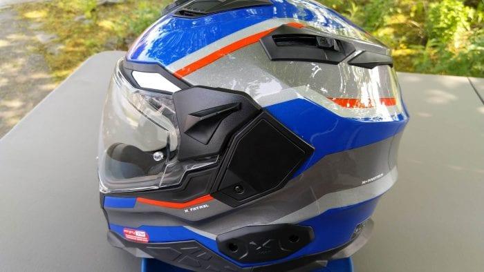 NEXX X.Wed2 X-Patrol Helmet with peak removed